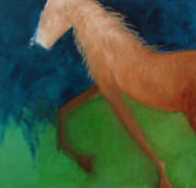 "Painting, Horse Painting, by Susana Arias, ""Potrillo"""